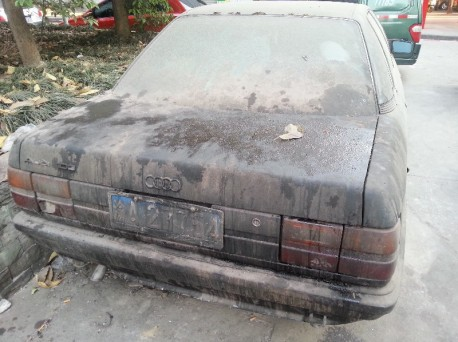 Spotted in China: abandoned FAW-Audi 100