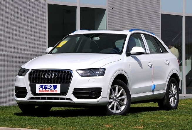Chinamade Audi Q Launched On The Chinese Car Market CarNewsChinacom - Audi q3 price