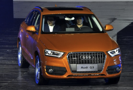China-made Audi Q3 launched on the Chinese car market