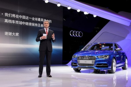 Audi wants to sell 700.000 cars per year in China by 2020
