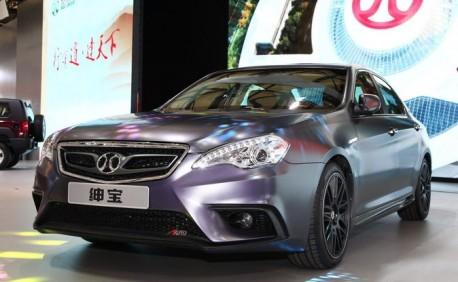 Beijing Auto Shenbao D-Series 'Aero' debuts on the Shanghai Auto Show