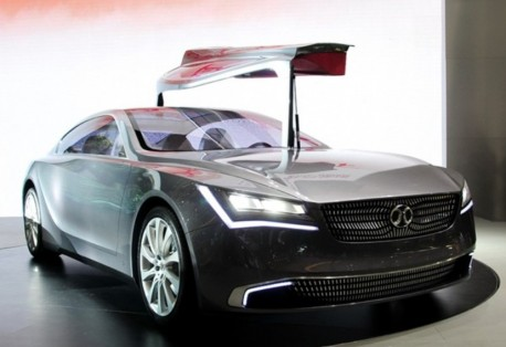 Beijing Auto Concept 900 concept launched on the Shanghai Auto Show