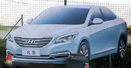 New Hyundai sedan for China leaked before the Shanghai Auto Show