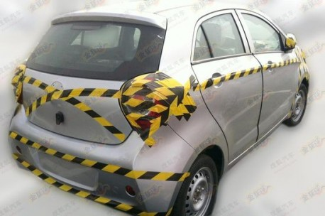 Spy Shots: Brilliance H120 testing in China