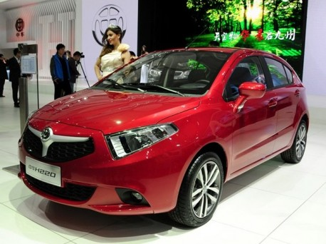 Brilliance H220 debutes on the Shanghai Auto Show