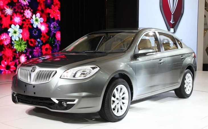 Brilliance H330 Arrives At The Shanghai Auto Show Carnewschina