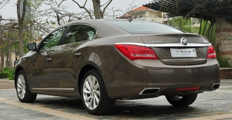 Facelifted Buick Lacrosse launched on the Chinese car market
