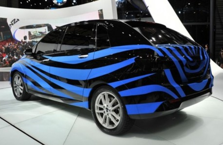 BYD-Daimler Denza 'prototype' hits the Shanghai Auto Show