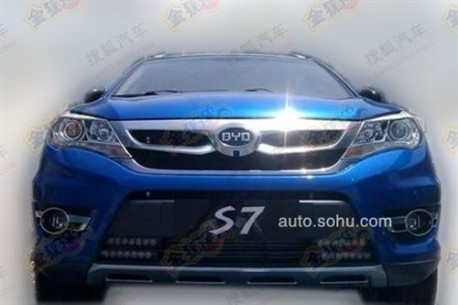 Spy Shots: BYD S7 shows up before the Shanghai Auto Show