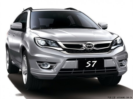 Official Pictures of the BYD S7, will debut on the Shanghai Auto Show