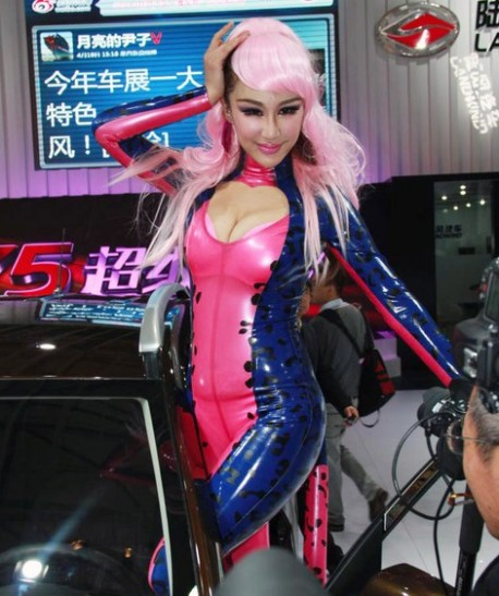 catwoman-china-car-girl-shanghai-5