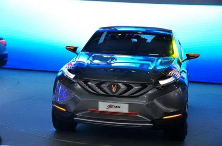 Chang'an CS95 concept debuts at the Shanghai Auto Show