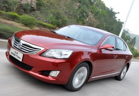 Chang'an Raeton launched on the Chinese car market