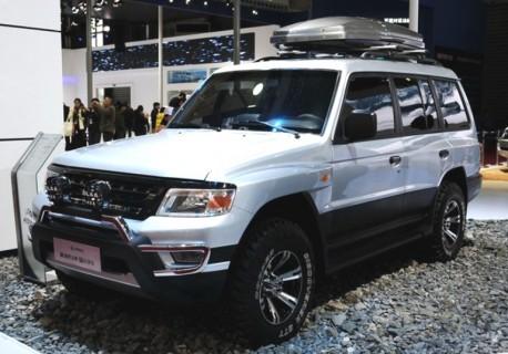 Changfeng Liebao Heijin concept hits the Shanghai Auto Show