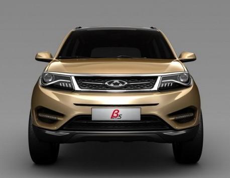 Chery Beta 5 concept SUV for the Shanghai Auto Show