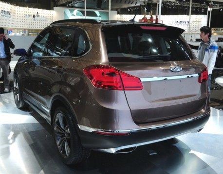 Chery Beta 5 concept debuts on the Shanghai Auto Show