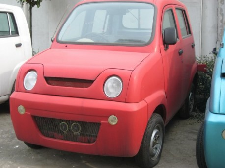 China Car History: the cheap Chery Quart Q11