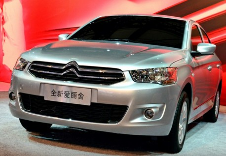 New Citroen C-Elysee debuts on the Shanghai Auto Show