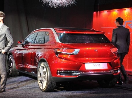 Citroen DS Wild Rubis concept SUV debuts on the Shanghai Auto Show