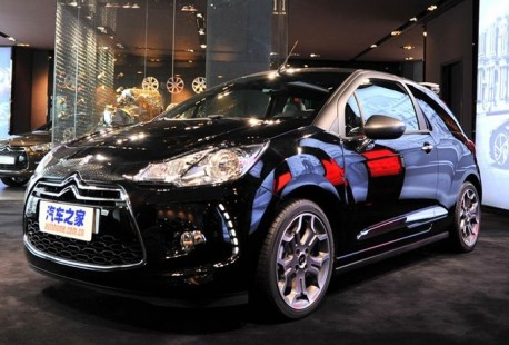 Citroen DS3 Cabrio launched on the China car market