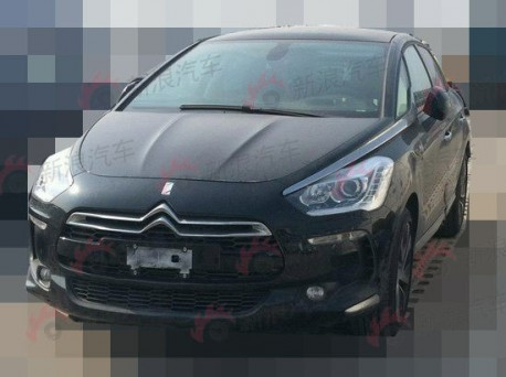Spy Shots: China-made Citroen DS5 is almost ready for the Chinese car market