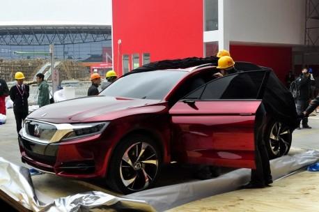 Citroen DS Wild Rubis concept arrives at the Shanghai Auto Show