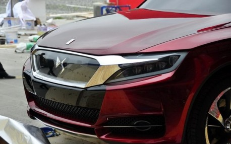 Citroen DS Wild Rubis concept arrives at the Shanghai Auto Show