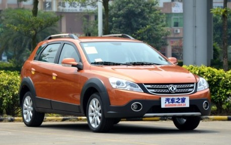 Dongfeng Fengshen H30 Cross launched on the China car market