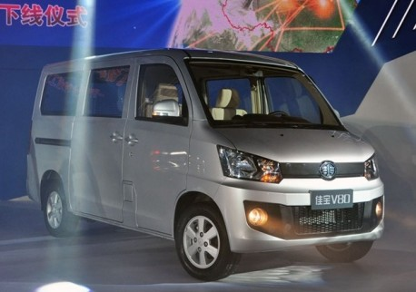 Production of the FAW Jiabao V80 has started in China