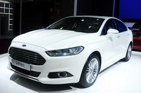 China-made Ford Mondeo debuts on the Shanghai Auto Show