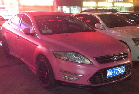 ford-mondeo-pink-china-0