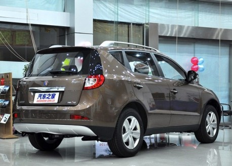 Geely Englon SX7 hits the Chinese car market