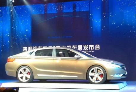 Geely KC concept debuts in China before the Shanghai Auto Show