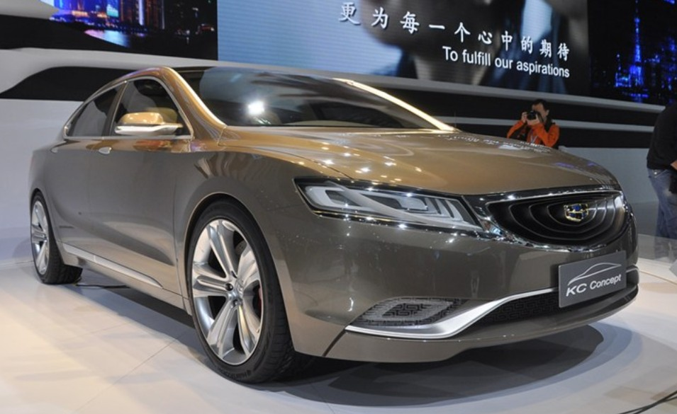 Another Look At The Geely Emgrand KC Concept On The Shanghai Auto - Car show kc