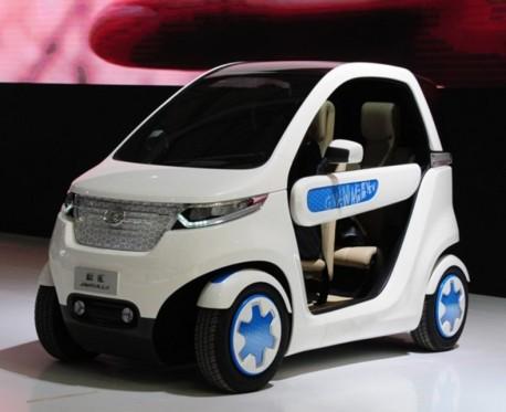 Great Wall Kulla EV concept electrifies the Shanghai Auto Show