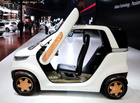 Great Wall Kulla EV concept electrifies the Shanghai Auto Show