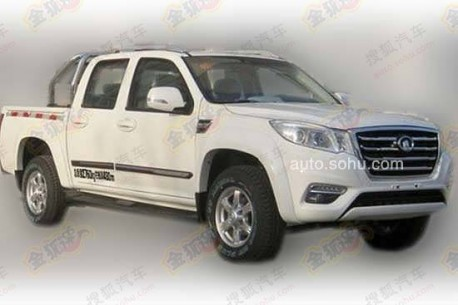Spy shots: Great Wall Wingle 6 pickup truck testing in China