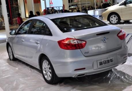 Haima M6 arrives at the Shanghai Auto Show