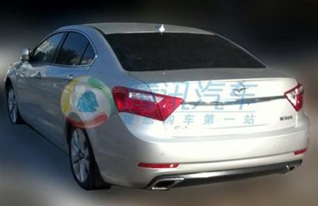 Spy Shots: Haima M8 seen testing in China