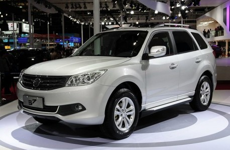 Facelifted Haima S7 SUV launched on the Shanghai Auto Show