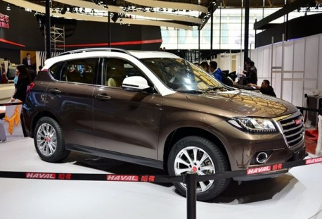 Haval H2 concept arrives on the floor of the Shanghai Auto Show