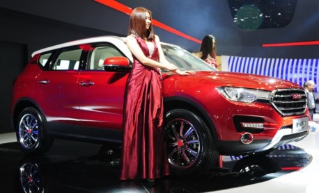 Haval H7 debuts at the Shanghai Auto Show