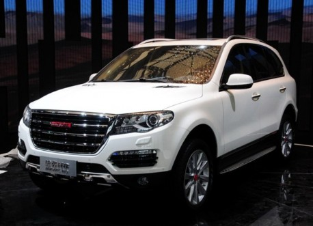 Haval H8 hits the Shanghai Auto Show