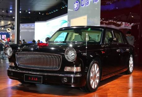 Hongqi L5 debuts on the Shanghai Auto Show