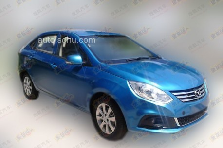 Spy Shots: new JAC A30 is Naked in China
