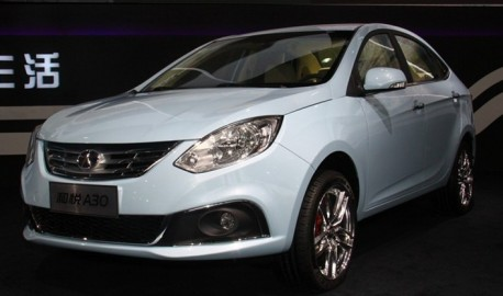 JAC Heyue A30 debuts at the Shanghai Auto Show