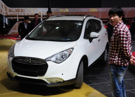 JAC Heyue S30 arrives at the Shanghai Auto Show