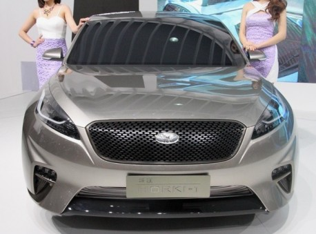 Kia launches China-only 'Horki' brand on the Shanghai Auto Show