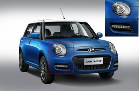 Spy Shots: facelifted Lifan 320 is a Chinese mix of the Fiat 500 and the Mini