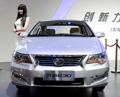 Lifan 630 launched on the Shanghai Auto Show